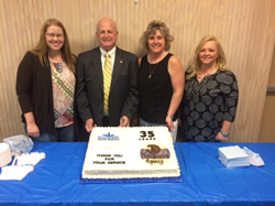 35 Years in the insurance business