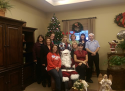 Schertz Chamber of Commerce Caroling